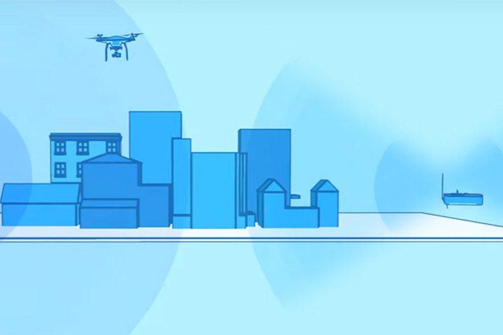信號可能在密雜電磁環境下受到干擾,建議盡量避免在密雜電磁環境的區域飛行