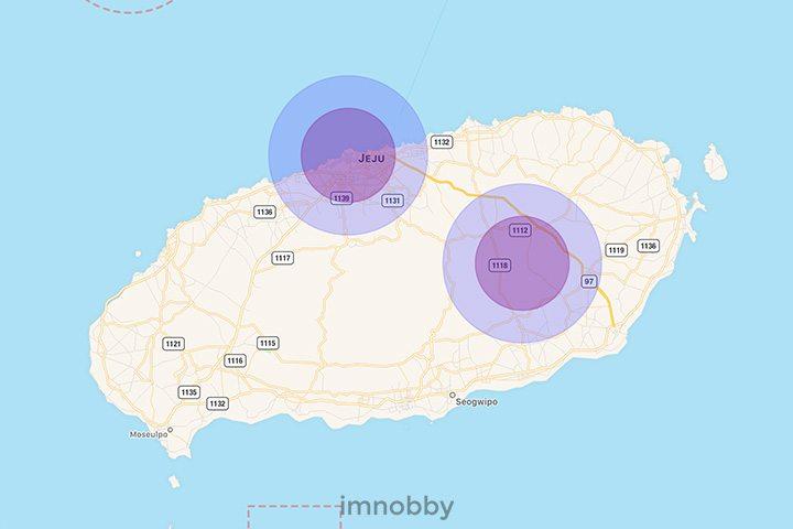 SafeFlight: 濟州 (Jeju) 禁飛區地圖