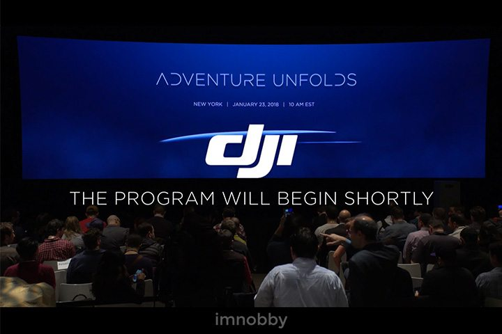 DJI Mavic Air 於「Adventure Unfolds」的發布會登場