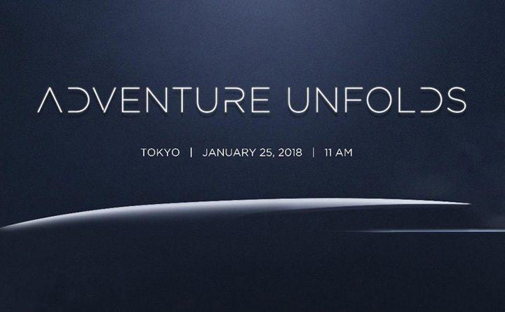 1 月 25 日於東京舉行的「Adventure Unfolds」活動