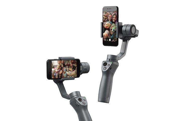 DJI Osmo Mobile 2 - 直拍與橫拍