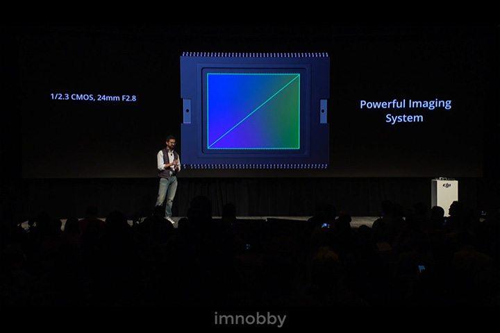 使用強勁的圖像系統,1/2.3 CMOS, 24mm F2.8