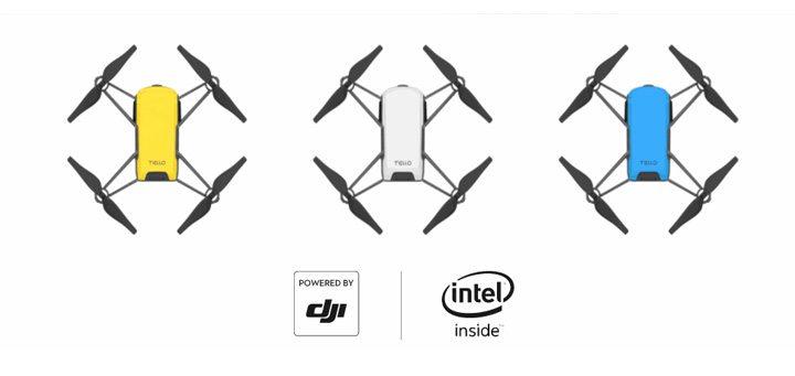 使用 DJI 飛行控制技術 (Powered by DJI) 及 Intel 高性能圖像處理器