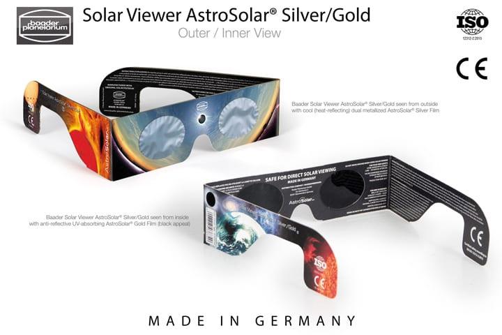 Baader Planetarium 官方巴德膜眼鏡(通過 CE 及EN ISO 12312-2:2015 安全認証)