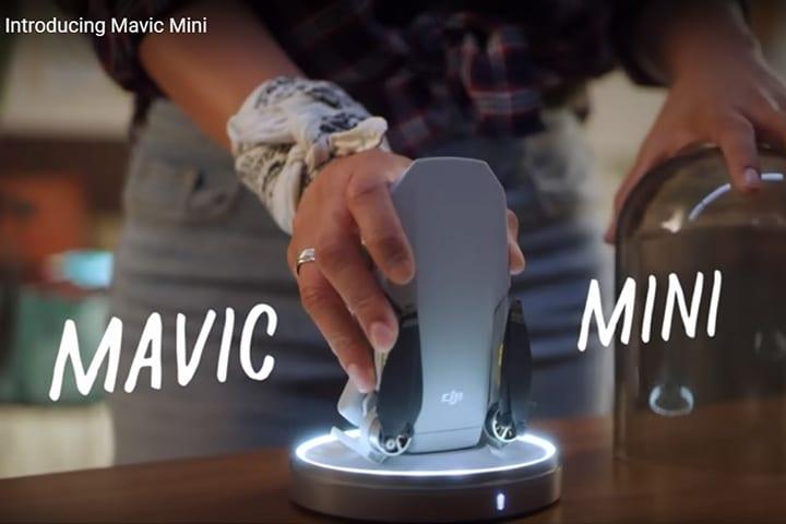 因為政治事件關係,「輕巧便攜具續航力」的航拍新產品「DJI Mavic Mini」於香港禁售。